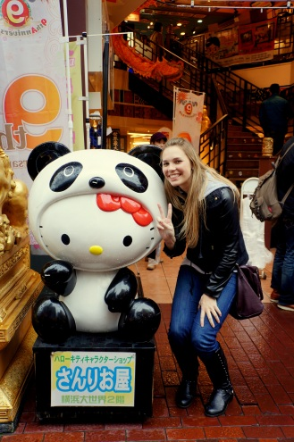 Hello Kitty Panda and me!